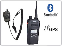 REXON RL-328S BT GPS VOIP Professional UHF VHF LVHF Two-way radios with GPS Tracking and locating Blue Tooth Skype VOIP ROIP